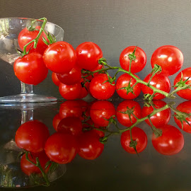 tomatoes by Janette Ho - Food & Drink Fruits & Vegetables