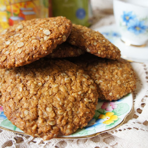 Wheat-free, dairy-free Anzac Biscuits