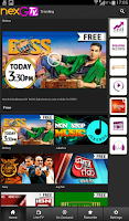 Screenshot of nexGTv HD:Mobile TV, Live TV