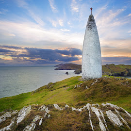 Baltimore Beacon by Jirka Vráblík - Landscapes Waterscapes ( ireland, sunset, west cork, baltimore )