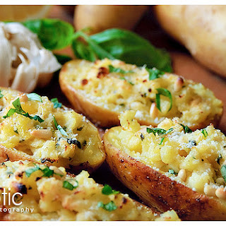Pesto Baked Potatoes Recipes