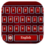Power of red Keyboard Theme Icon