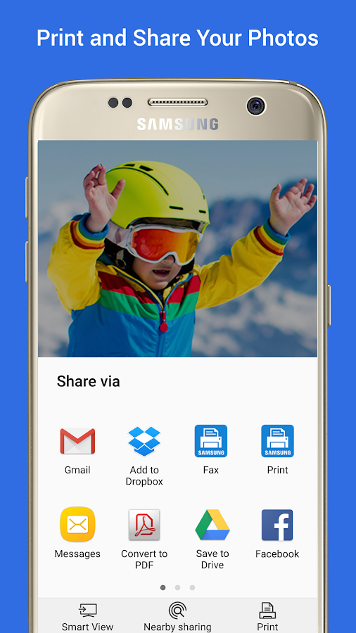 Samsung Print Service Plugin Screenshot