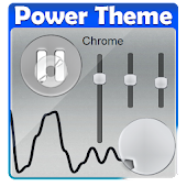 App Chrome Poweramp Skin apk for kindle fire