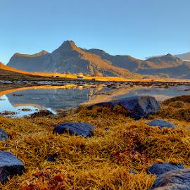 Low Tide.. by John Aavitsland - Landscapes Waterscapes