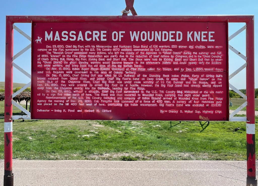 It's well known that this is a contested piece of ground and a contested piece of history. It's also an episode that remains an open wound, largely because Congress saw fit to bestow the nation's ...