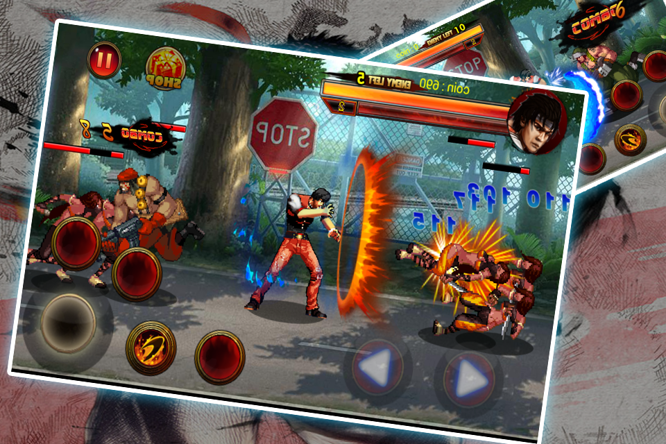 Kungfu Fighter in the street Screenshot 0