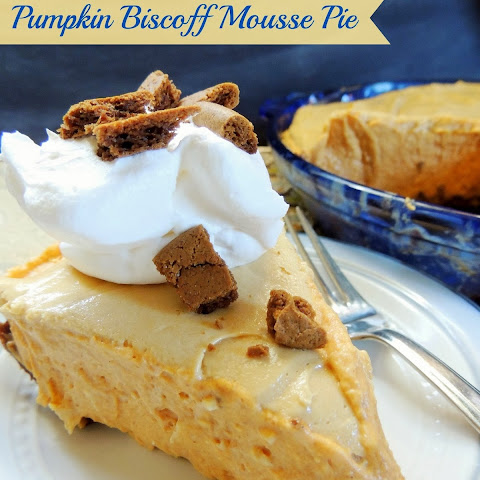 Pumpkin Biscoff Mousse Pie