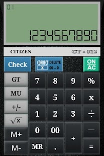 Free Download CITIZEN CALCULATOR APK for Samsung