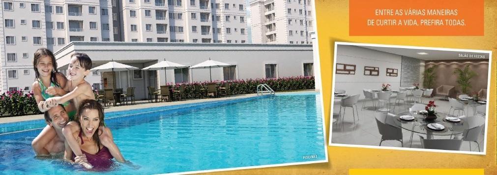 Apartamento residencial à venda, Jardim das Margaridas, Salvador.