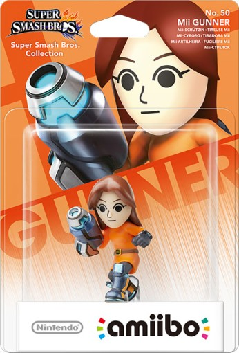 Mii Gunner packaged (thumbnail) - Super Smash Bros. series