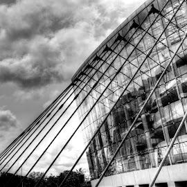 Kauffman Center  by Teresa Husman - Buildings & Architecture Other Exteriors ( public buildings, performing arts,  )