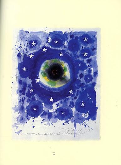 Buena la Tierra Técnica mixta sobre papel 67 x 52 cm Buenos Aires 1998