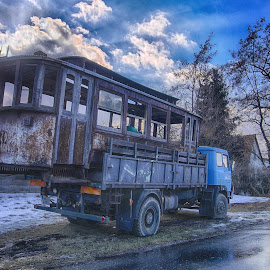 Old tram by Michal Fokt - Transportation Other ( tram )