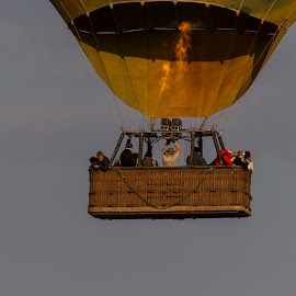 Lofted Up High by Tom Dunlap - Transportation Other ( balloon trip )