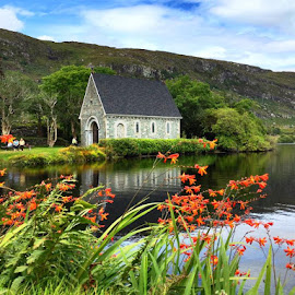 Gougane Barra, Co.Cork, Ireland by Liadh Crowley  - Novices Only Landscapes ( cork, ireland, nature, church, lake )