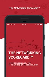 The Networking Scorecard™ Beta Business app for Android Preview 1