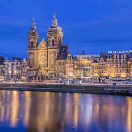 Amsterdam, NL by Nikolas Ananggadipa - City,  Street & Park  Historic Districts ( canon, europe, belanda, holland, buildings, reflections, long exposure, rivers, netherlands )