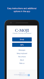 C-moji by Columbia University - screenshot
