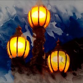 The Glow of Three  by Richard Wilson - Digital Art Things