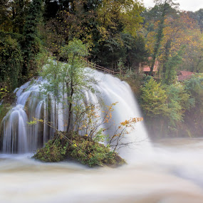 Vilina kosa by Vedran Bozicevic - Landscapes Waterscapes ( love, colorful, autumn, happy, waterfall, autumn colors, landscape, travel photography,  )