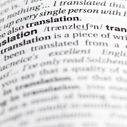 Definition of translation from the Oxford Dictionary