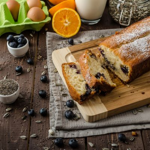 Blueberry-Orange Sour Cream Bread