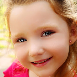 Beautiful Smile by Cheryl Korotky - Babies & Children Child Portraits