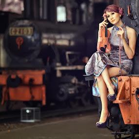 Last Sonata by Angga Photology - People Fashion ( glamour, fashion, infrared, falsecolor, beauty, women, portrait )