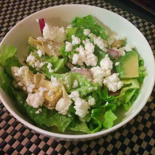 Tangy Goat's Cheese Green Salad