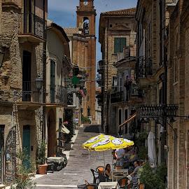 by Donato Fratoianni - City,  Street & Park  Street Scenes
