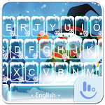 Cute Snowman Keyboard Theme 6.12.5 Apk