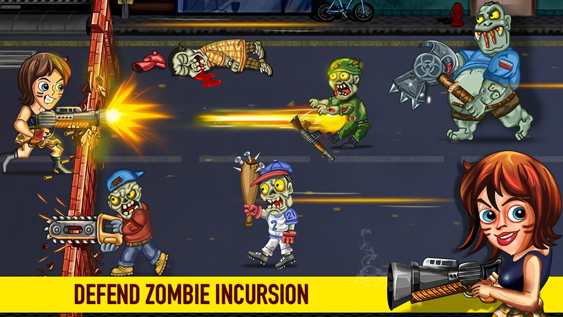 Last Heroes - Explosive Zombie Defense Shooting Screenshot 2