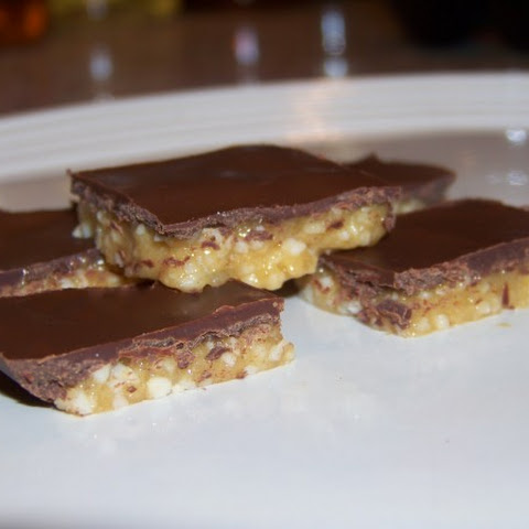 "Low Carb ""Snickers Bar"" Candy"