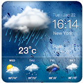 Daily weather forecast widget? Icon