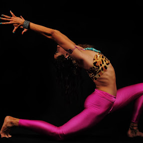Yoga Pose by Cristobal Garciaferro Rubio - People Fine Art ( pose, garciaferro, yogi, lady, yoga )