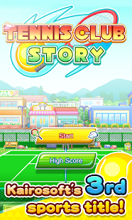 Tennis Club Story- screenshot thumbnail