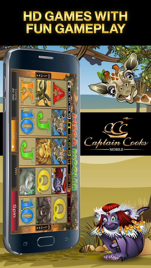 Captain Cooks Mobile HD Screenshot 4