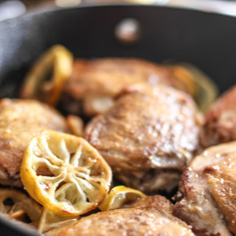 Perfect Pan Roasted Chicken Thighs