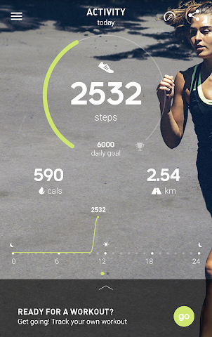android adidas train & run BETA Screenshot 0