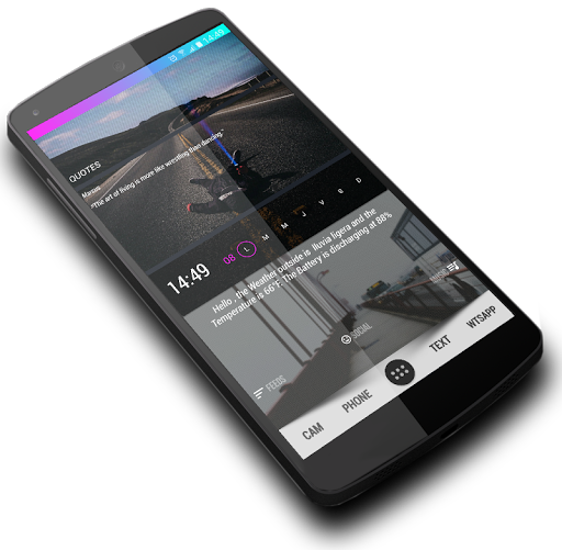 CleanColor for Klwp - screenshot