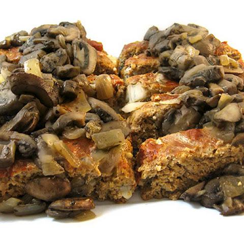 Skinny Turkey Meatloaf with Mushroom Sauce