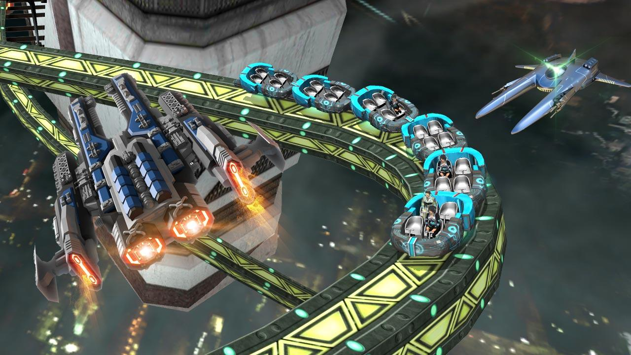 Roller Coaster Simulator Space Screenshot 1