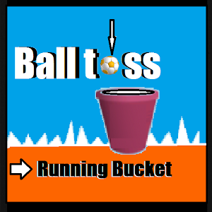 Running Bucket Ball Toss for Android
