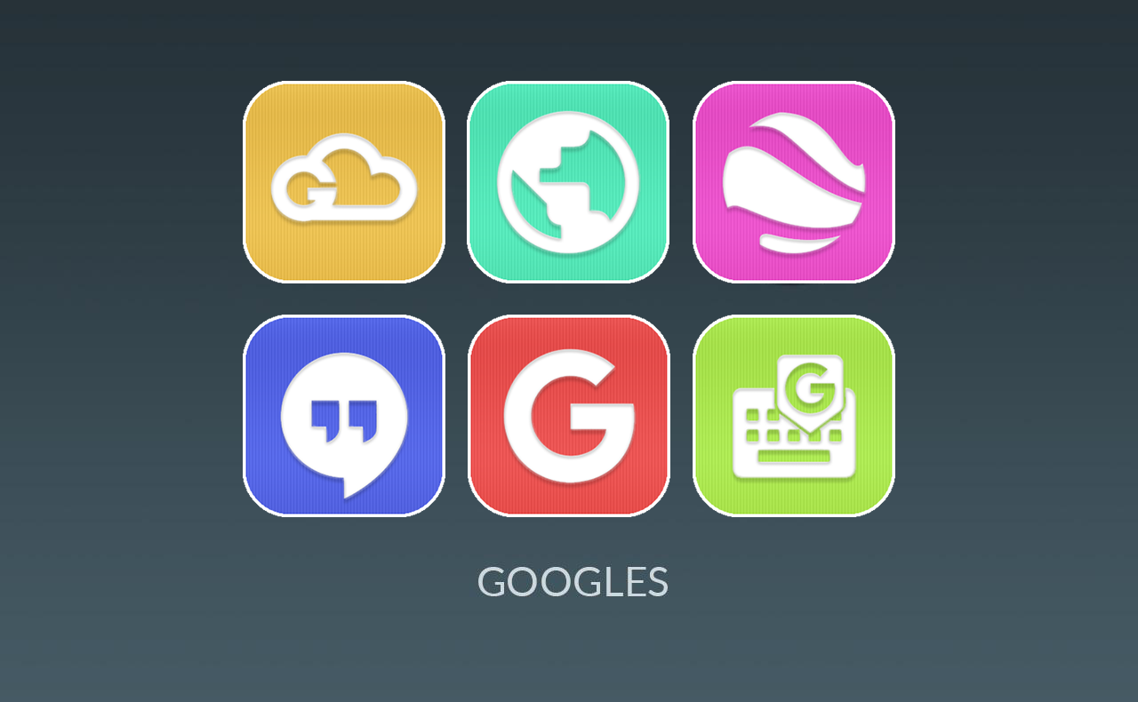 Colin UI - Simple Flat Icons Screenshot 2