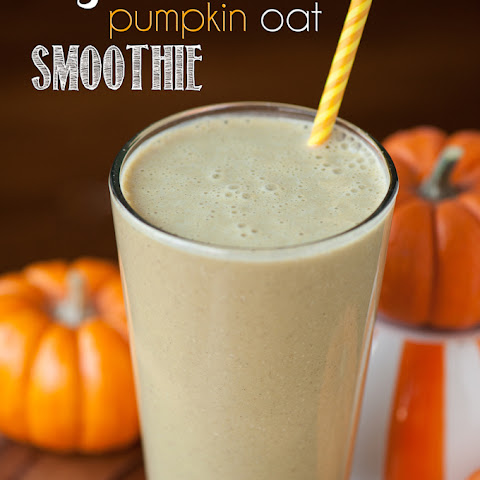 Pumpkin Oat Protein Smoothie