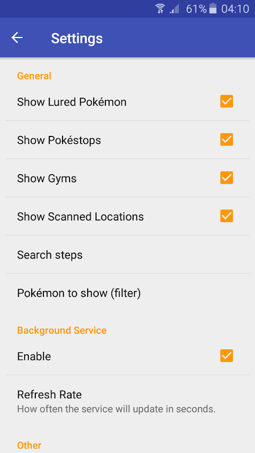 Pokemap - scan and alert Screenshot 6