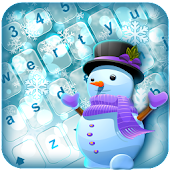 Let It Snow Keyboard Theme for Lollipop - Android 5.0