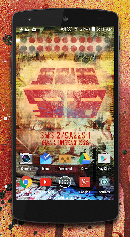 ResinFour Zooper widget pack Screenshot 0