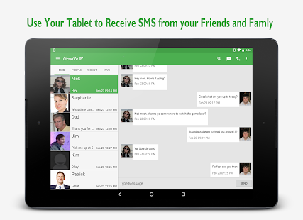 Free GrooVe IP VoIP Calls & Text APK for Windows 8